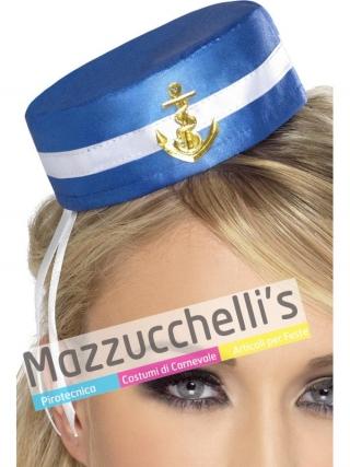 Mini cappello Marinaia mestieri lavori film carnevale halloween o altre feste a tema