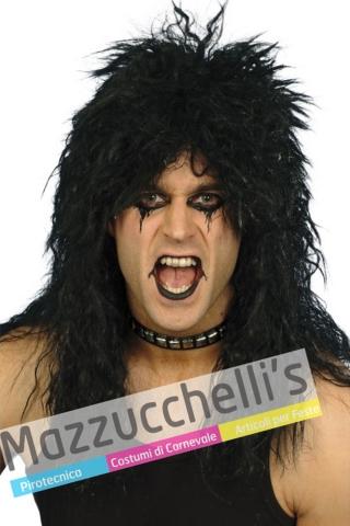 Parrucca Rock Mora Mossa personaggi e famosi cantanti - Mazzucchellis