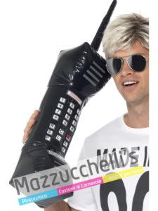 Telefono Gonfiabile Anni '80 '90 carnevale halloween o altre feste a tema
