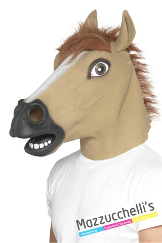 maschera-cavallo-animale---Mazzucchellis