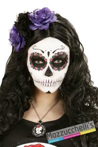 cerchietto Day of the dead Headband il giorno della morte carnevale halloween - Mazzucchellis