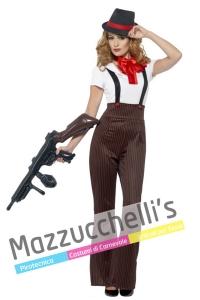 costume donna gangster anni '20 mafiosa - Mazzucchellis