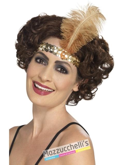 fascia charleston oro Anni '20 Carnevale, Halloween e altre feste a tema