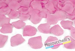 SPARACORIANDOLI petali rosa cm.40 PER MATRIMONI, CRESIME, COMUNIONI, BATTESIMI, COMPLEANNI E ALTRE FESTE A TEMA - MAZZUCCHELLI'S