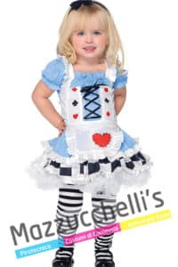 Costume Bambina Alice Nel Paese delle Meraviglie