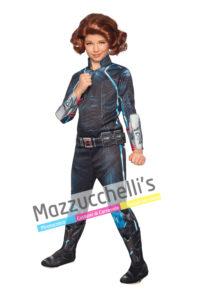 costume Bambina con Licenza Ufficiale Marvel Comics da Avengers Supereroe Black Window™