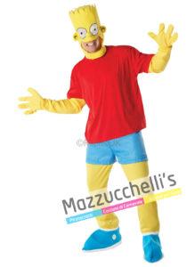 costume Uomo Ufficiale da Bart del cartone animato THE SIMPSON