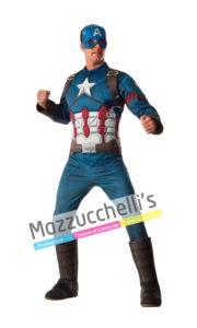 costume Adulto Uomo con Licenza Ufficiale Marvel Comics da Avengers Supereroe Capitan America™