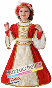 Costume Bambina Dama Elisa di Rivombrosa Baby