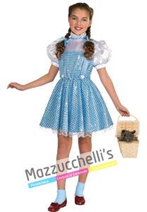 """Il costume da bambina del fantastico film """"IL MAGO DI OZ"""""""