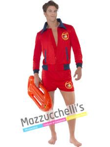 Il costume da Uomo Ufficiale da Bagnino del film Baywatch Anni '80 '90