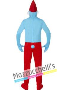 Costume da uomo da grande puffo del cartone animato i puffi