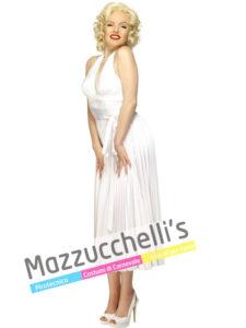 Costume Donna Star Malilyn Monroe cantante, Attrice, Modella e produttrice cinematograficastatunitense