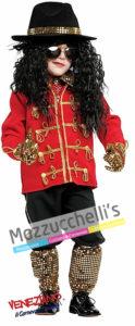 Costume Bambino Cantante FamosoMichael Jackson