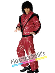 Costume Uomo Cantante Famoso Michael Jackson Thriller