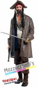 Costume Corsara Pirata Jack Sparrow - Pirati dei Caraibi