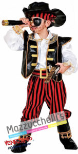 Costume Bambino Pirata dei Caraibi