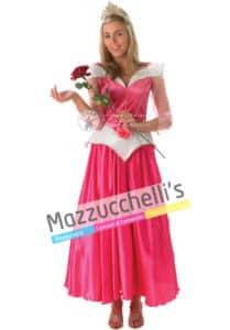 Costume Adulto Donna Principessa Aurora Deluxe - Ufficiale Disney™ (2)