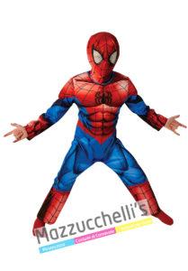 costume Babino con Licenza Ufficiale da Uomo Ragno Supereroe Spiderman™