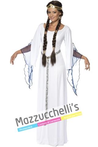 Costume medievale Principessa Lady Marion in Robin Hood - Mazzucchellis
