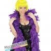 Boa in Piume Viola Anni 20 Charleston Carnevale Halloween e altre feste a tema