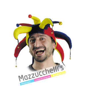 Cappello Medievale Storico Giullare - Jolly