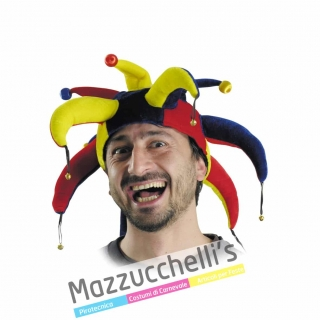 Cappello Medievale Storico Giullare - Jolly