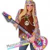 Chitarra Gonfiabile hippie personaggi famosi cantanti carnevale halloween altre feste a tema
