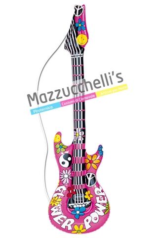 Chitarra Gonfiabile hippie '60 '70 - Mazzucchellis