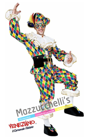Costume Arlecchino Maschere del mondo - Mazzucchellis