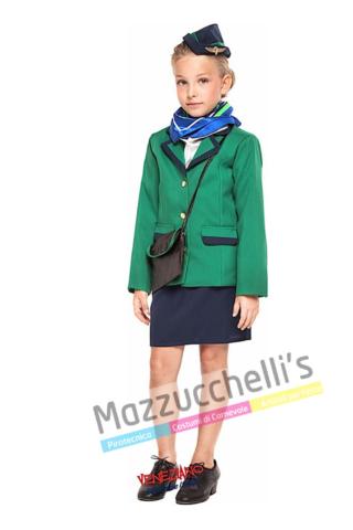 Costume Bambina Hostess - Mazzucchellis