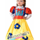 Costume Bambina Principessa Biancaneve - Mazzucchellis
