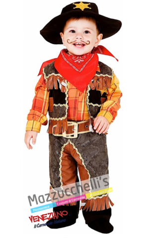 Costume Bambino Cowboy - Mazzucchellis