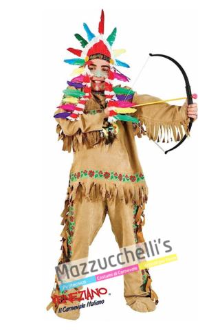 Costume Bambino Indiano - Mazzucchellis