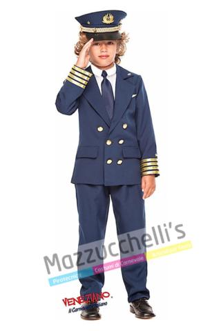 Costume Bambino Pilota - Mazzucchelli's