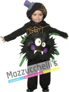 Costume Bambino Halloween Ragno