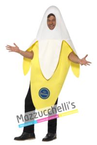 Costume Banana Frutta divertente - Mazzucchellis