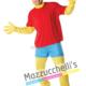Costume Bart Simpson Ufficiale - Mazzucchellis