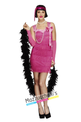 Costume Charleston Rosa - Mazzucchellis