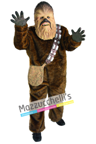 Costume Chewbacca Deluxe – Ufficiale Star Wars Disney™ - Mazzucchellis