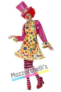 Costume Donna Clown - Mazzucchellis