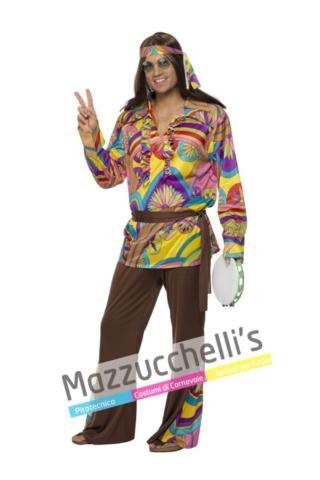 Costume Hippie anni 60 70 - Mazzucchellis
