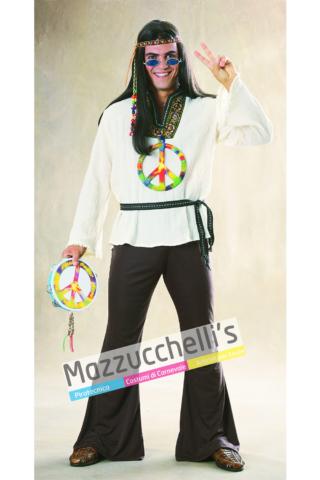 Costume Hippie anni -60 70 - Mazzucchellis