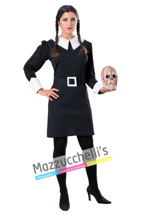 Costume Mercoledì Famiglia Addams - Mazzucchellis