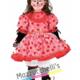 Costume Minnie Topolina Rossa - Mazzucchellis