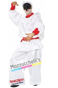 Costume Uomo Pulcinella Maschere del Mondo - Mazzucchellis