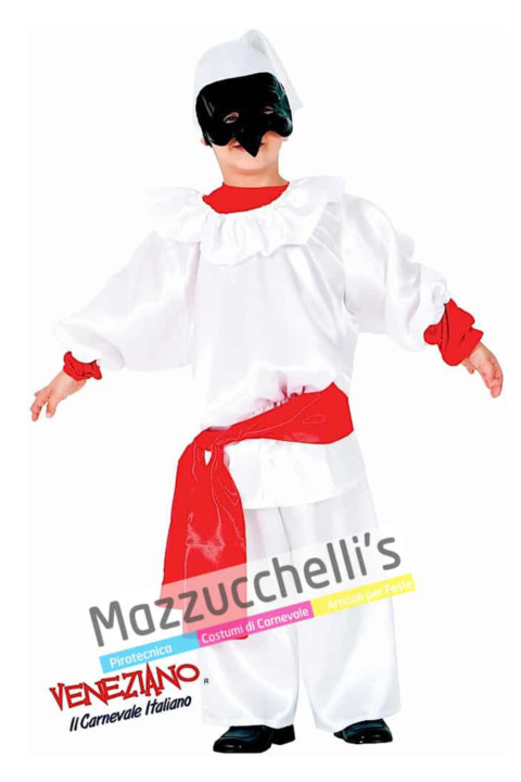 Costume Pulcinella maschere del mondo - Mazzucchellis