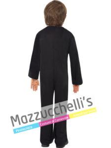 Costume Bambino Scheletro Fluo Colorato Halloween