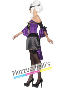 Costume Donna Halloween Sexy Baronessa Vamp