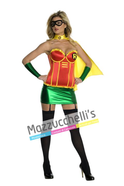 Costume Sexy Robin™ – Ufficiale - Mazzucchellis